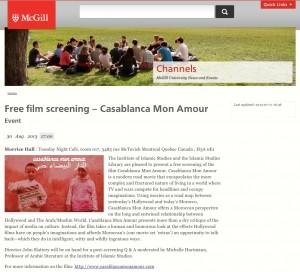 McGill CMA