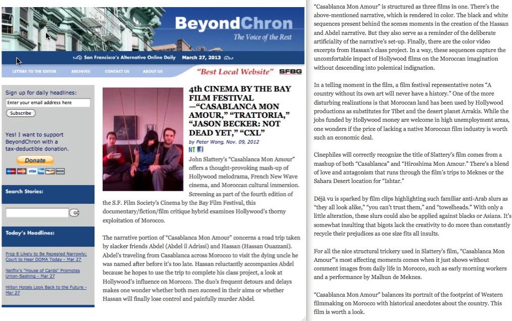 Beyond Chron 3